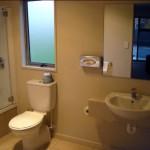 Two-bedroom unit bathroom